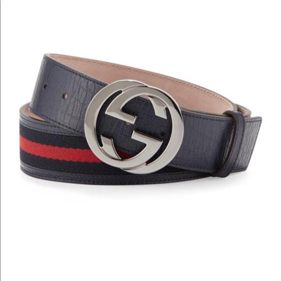 cc07b538de9 Gucci Other - Authentic Gucci Signature Web Belt with G Buckle